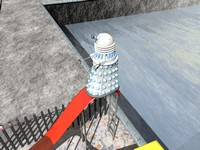 Daleks love slides. Everyone knows this.
