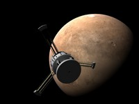 Mars would be an obvious destination. Although the trip might only take weeks, artifical gravity could be provided by rotating the ship. To avoid the crew getting dizzy, habitat modules could be extended on long booms (shown as much longer in the video, so that a full 1g could be provided without motion sickness).